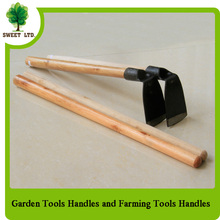 Straight shovel wooden handle smooth surface wooden poles for rake and shovel farm