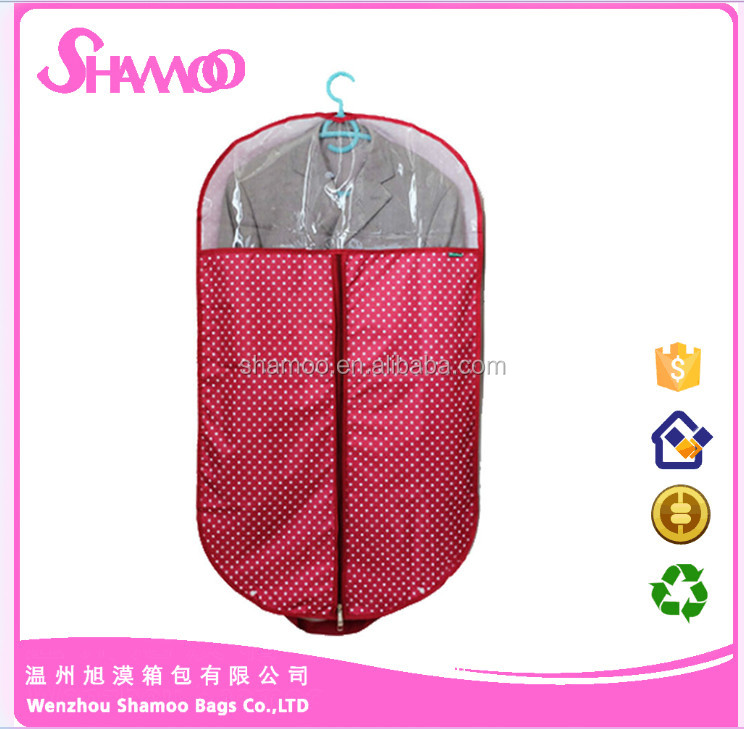 Wholesale fashion foldable wedding dress garment suit bags