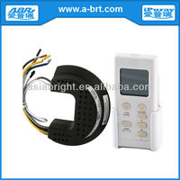 LCD Screen RF Ceiling Fan and Light Remote Control Switch
