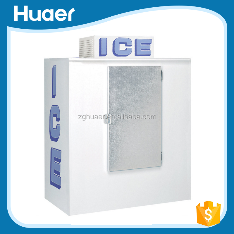 New Arrival Hot Product ice storage bin Outdoor Bagged Ice Storage Bin vertical ice storage bin