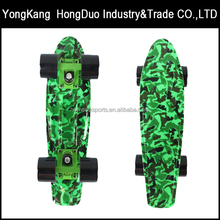 Plastic PP Deck Skateboard with Four Wheels Fish Banana Skate Board