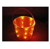 Glowing Led Lighting Bucket/Led Halloween Bucket/Halloween Bucket