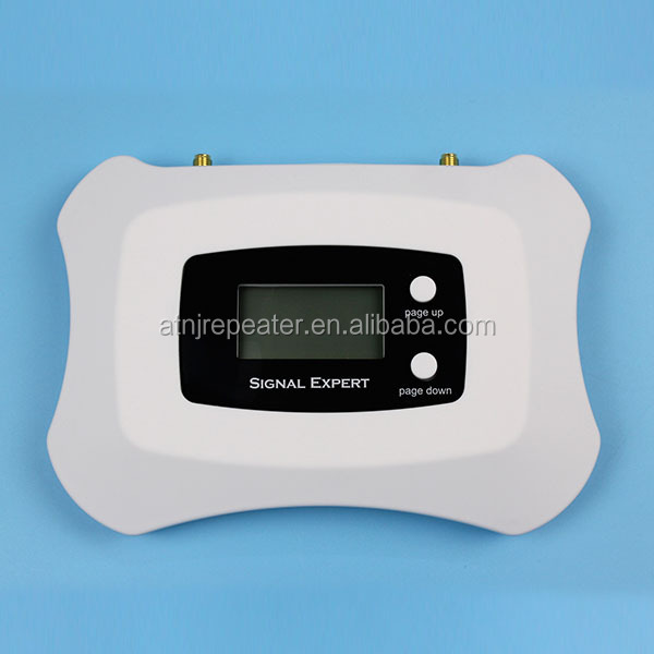 Micro single band Smart mobile signal booster/repeater with LCD using for office, home, apartments....ect
