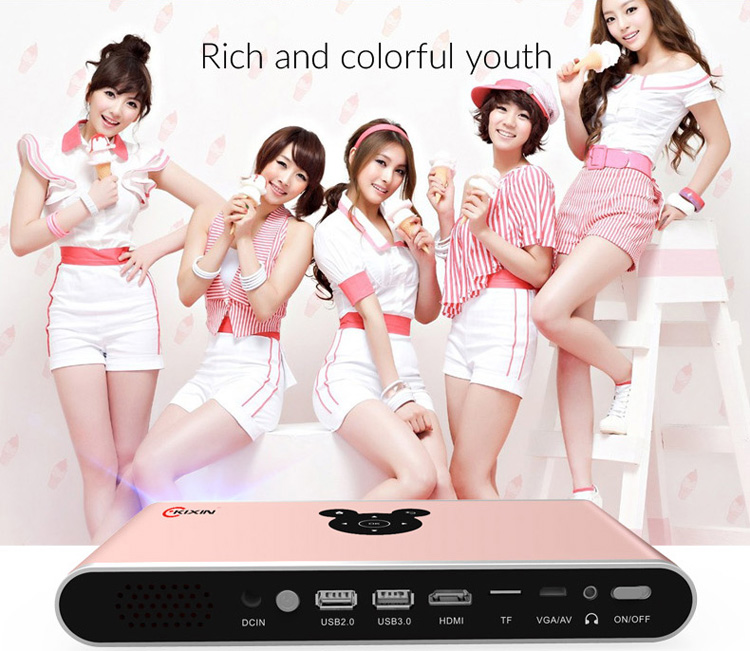 Mobile Smart Made In China Home Theater Large Venue Projector