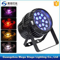 pro waterproof 18*10w RGBW zoom powered led outdoor par light for sale