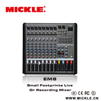 MICKLE Multifunctional EM8 USB mini audio console for wholesales