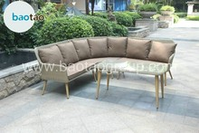 Vintage style corner living room sofa furniture sofa set