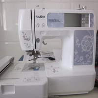 2017 new design apparel and textile machinery computer embroidery sewing machine
