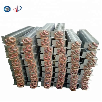 Refrigeration equipment finned copper tube evaporator