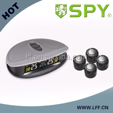 Hot selling colorful rechargeable car TPMS, wireless tire pressure monitoring system