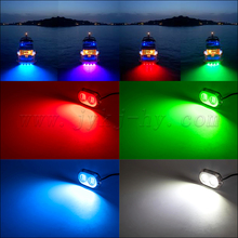 IP68 Waterproof Stainless Steel Housing 120w LED Underwater Light for Boat, Marine, Yacht
