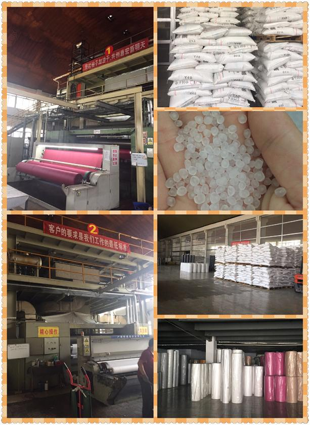 PP nonwoven fabric for insulation wall interling material