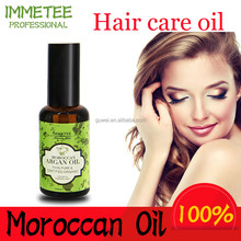 Private label moroccan argan oil use with hair shampoo to help hair regrowth