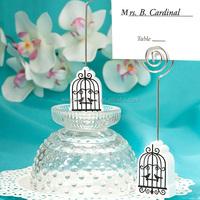 Elegant Birdcage Place Card Holder Wedding Favors