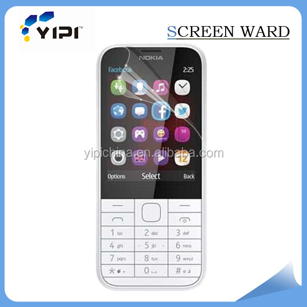 Anti fingerprint clear phone screen protector/screen guard for Nokia 225