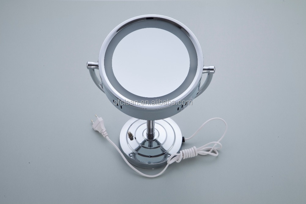 hotel style bathroom wall mounted double side magnifying magic mirror