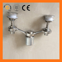stainless steel routel eva spider man/stainless steel glass clamp