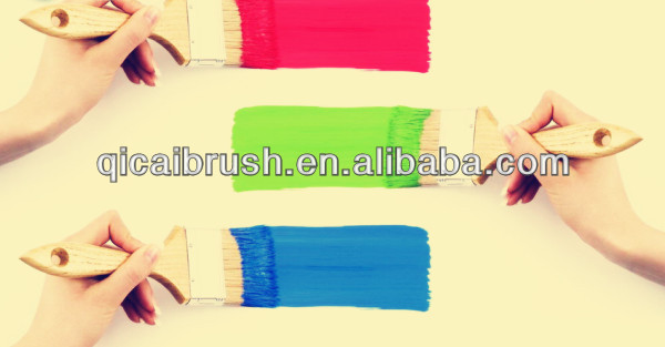 Free Samples Wood Handle Paint Brush,purdy paint brushes wholesale,chinese wall paint brush
