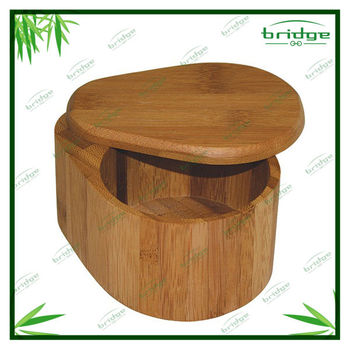 Simply Bamboo Salt Box