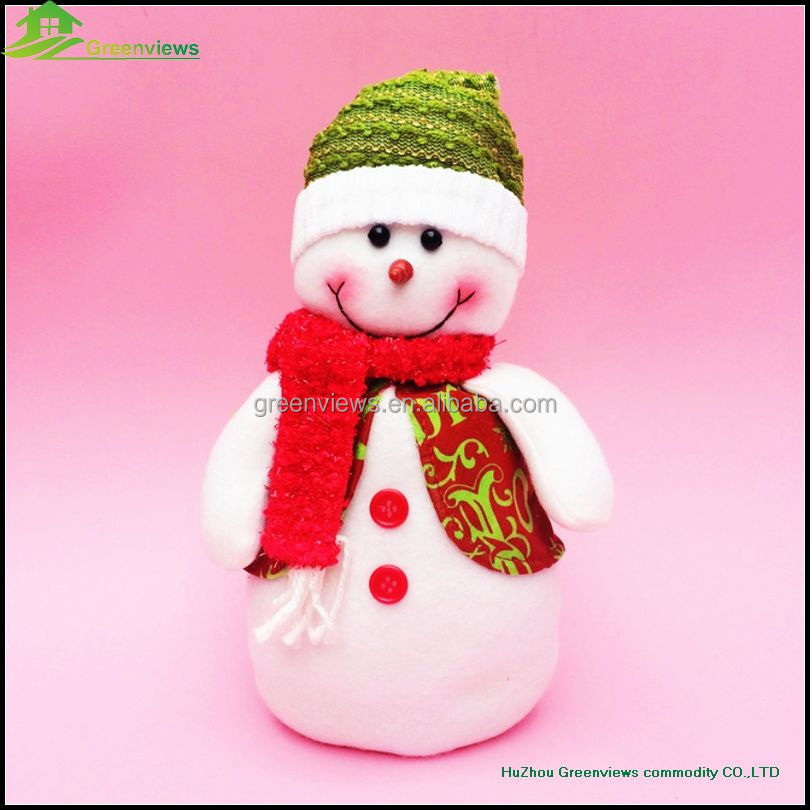 30CM handmade funny wholesale christmas toy christmas ornaments stuffed elf dolls Christmas tree decoration stuffed toy