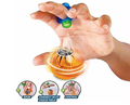 Wholesale magneto sphere toy ball kids magic ball with LED light for christmas gift
