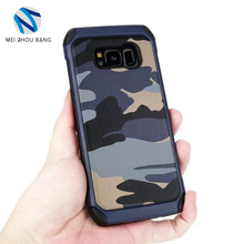 Army Camouflage Pattern Hybrid Drop Against Cell Phone Case For Samsung S8