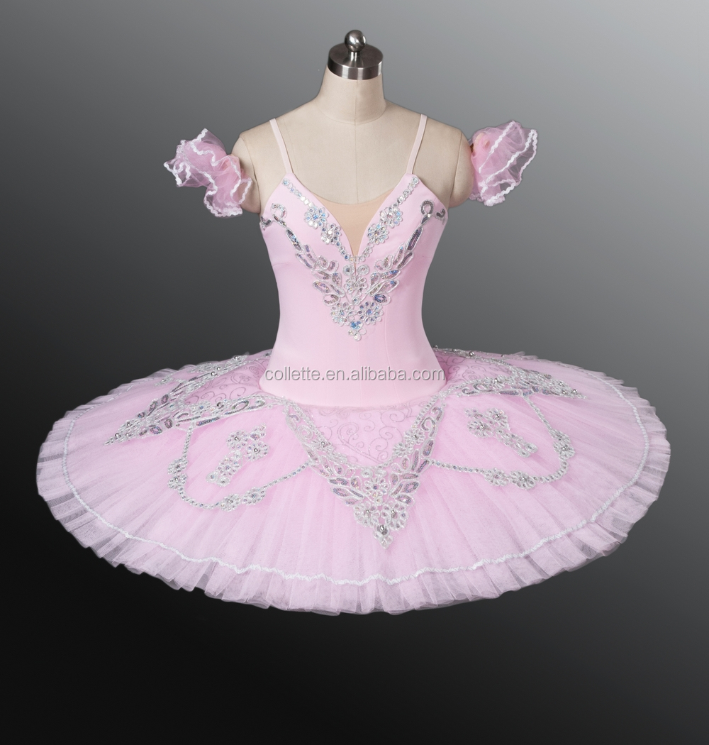 BLY1236 Adult dance wear pink classical professional pancake ballet tutu