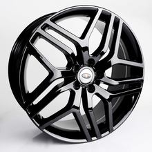 "20"" and 22"" replica aluminum alloy black machined face wheels for Rang Rover"