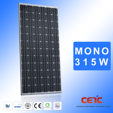 A grade monocryslline sun power solar panel 315w