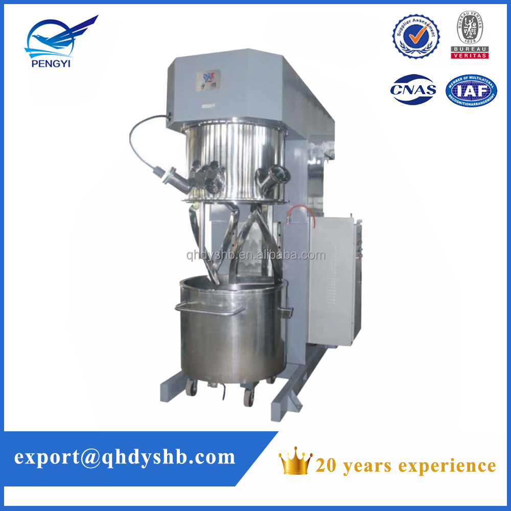 Double shaft planetary adhesive mixer/high viscous mixer/resin mixer