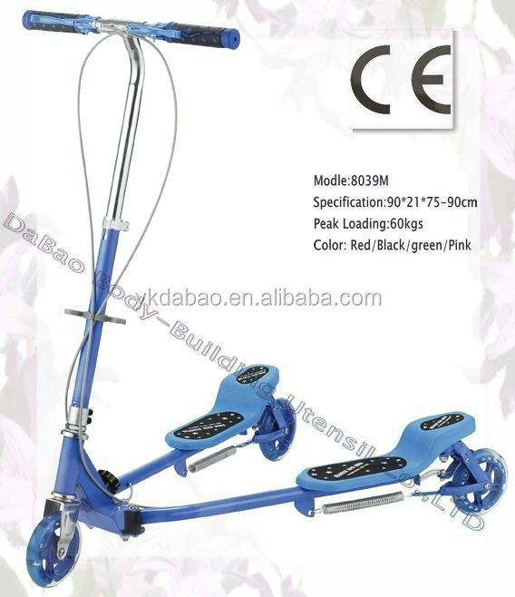 folding frog kick scooter,kids scooter, kick scooter; China DaBao (DB8039M)