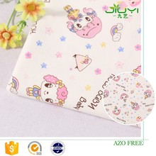 wholesale cheap custom cute girl pattern japanese printed cotton material textile