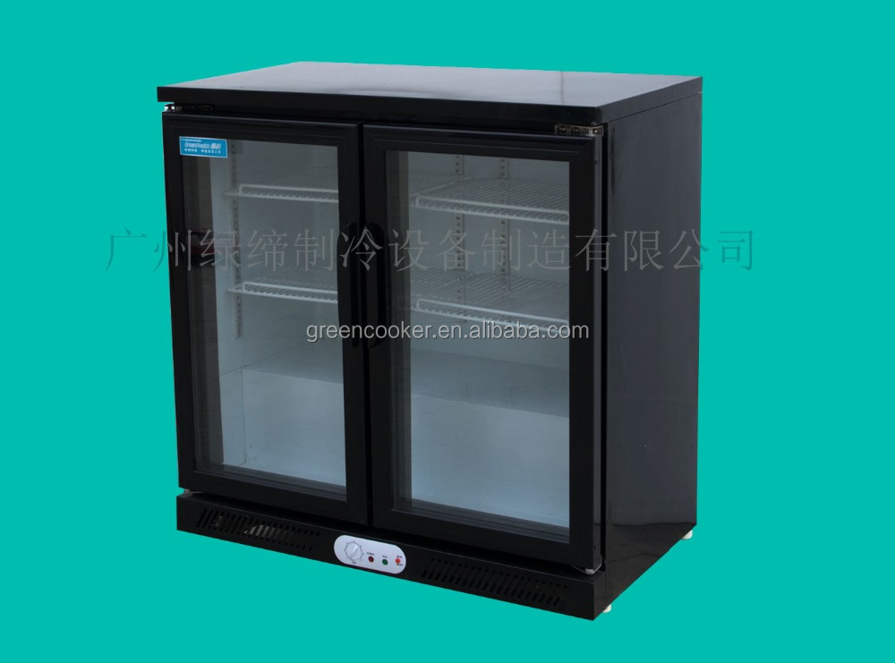 90/200/300 liters Ventilated Glass Door Bar Fridge/Undercounter Bar Fridge/Underbar Fridges