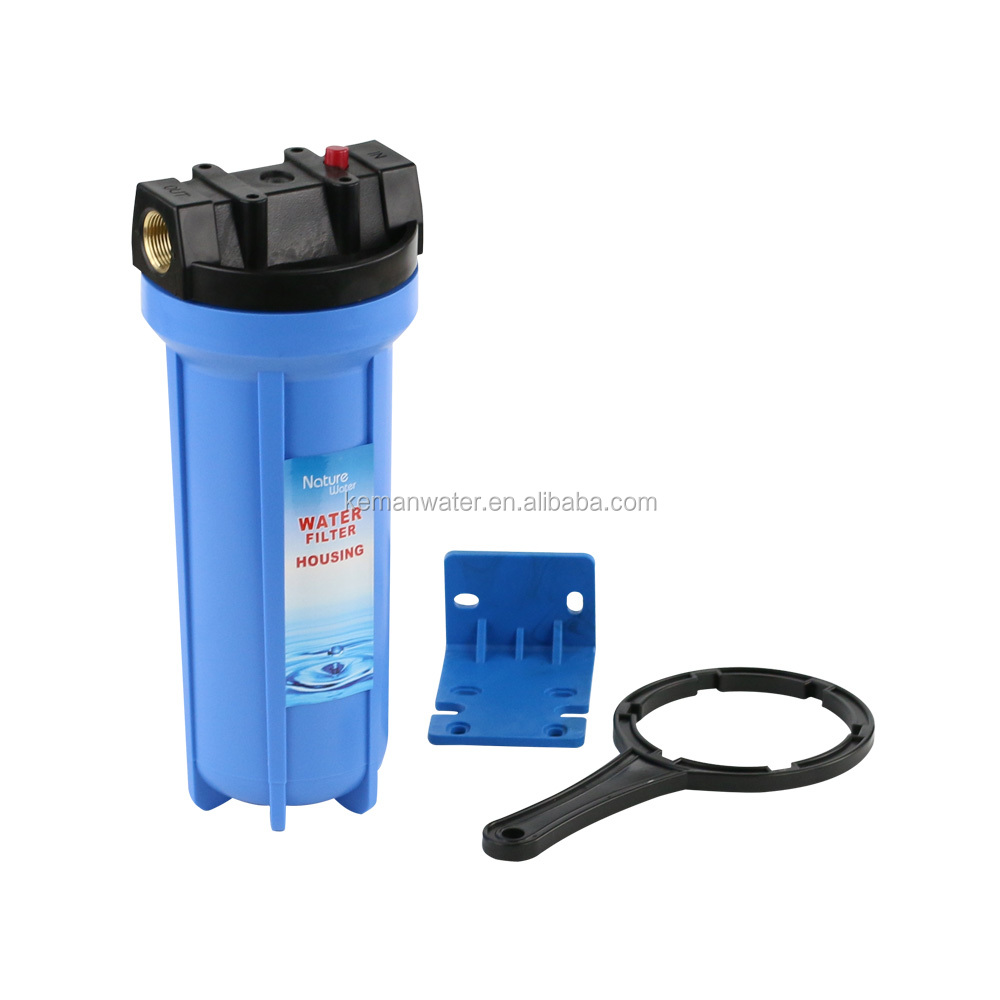 10'' plastic pre filtration water filter with wrench