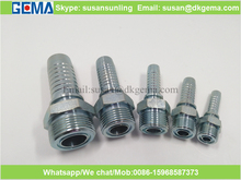 14211 ORFS MALE straight tube fitting SAE J 514 hydraulic hose fitting UNF thread ORFS fitting