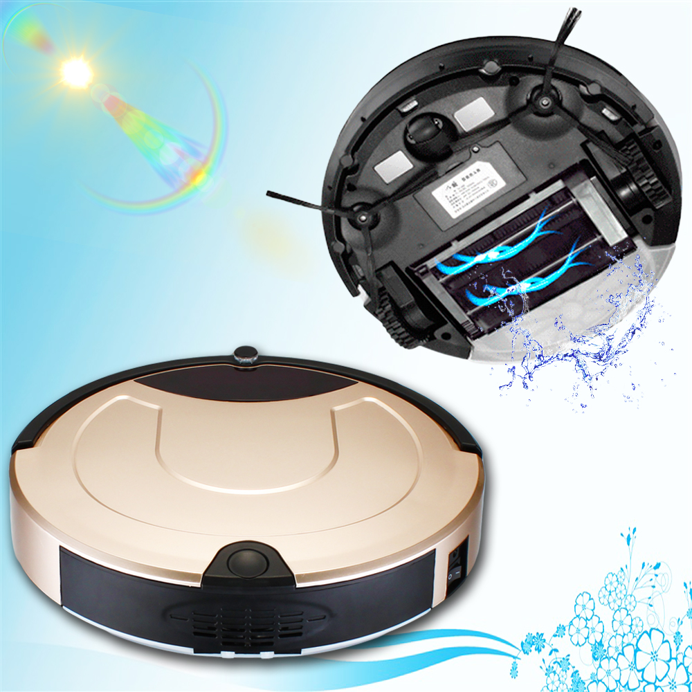Low Price High Quality Robotic Vacuum Cleaner Best Non Stick Cordless Vacum Sweeper to Clean The Floor and Carpet Made in China