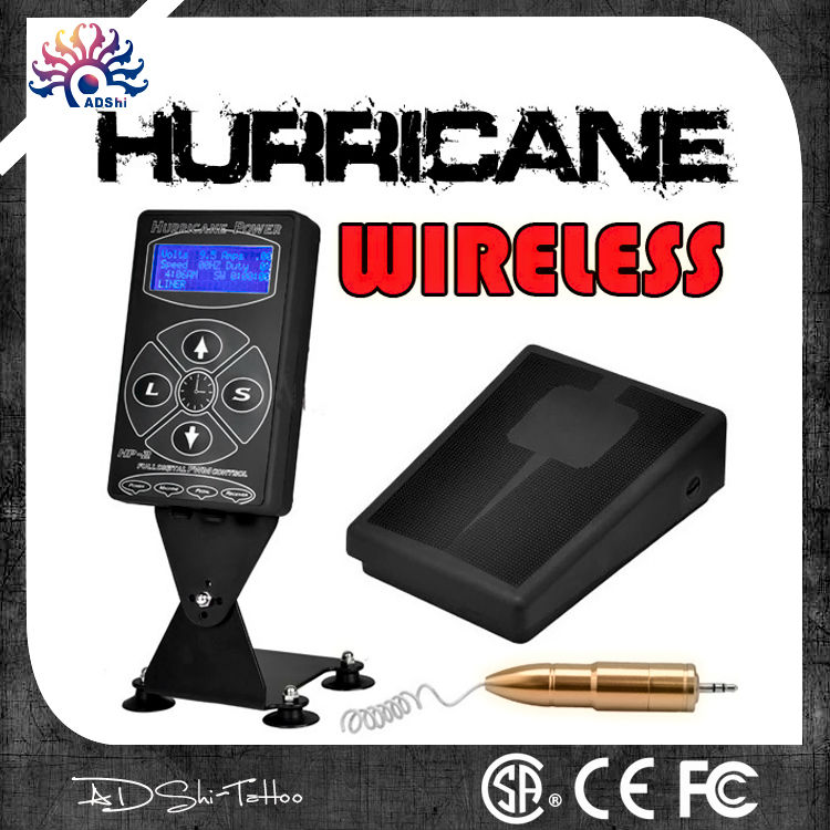 Hurricane HP-2 Dual Digital LCD Tattoo Power Supply in hot sale