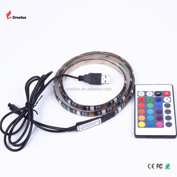 50CM/100CM/200CM 5050 30LED 7.2W USB LED Strip Light TV Background Lighting IP65 Kit 5V