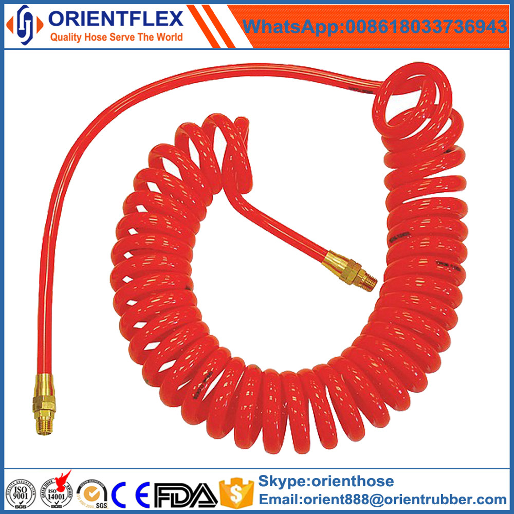PU coiled air hose