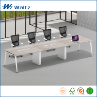 Hot sale office furniture steel leg modern conference table