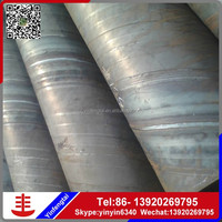 astm grade d spiral welded steel pipe for underground pipe