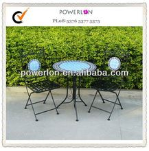 Mosaic Table and Chair Bistro set for Garden Use