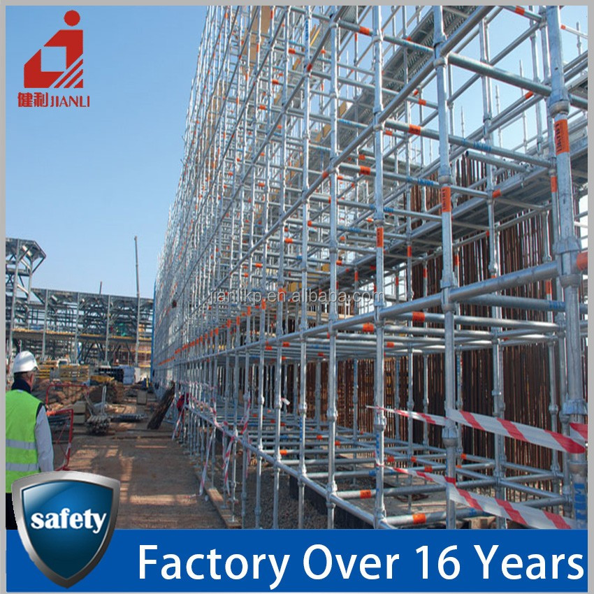 Hot Sale Cuplock Scaffolding Material Specifications Standard