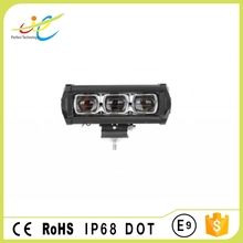 E-MARK certificated 6D single row light bar offroad 30w led light bar