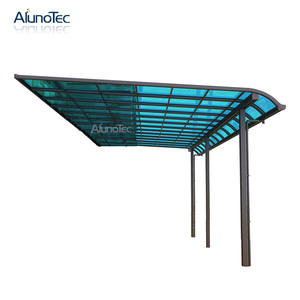 Aluminum Polycarbonate Balcony Patio Terrace Awning