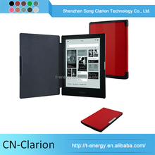 "Wholesale Stand Leather Cover Case For Kobo Aura Hd 6.8"" eBook Reader Anti-Shock 7 Inch Tablet Case"