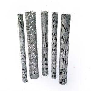 Stainless Steel perforated casing pipe for water well filter