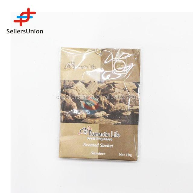 2017 No.1 Yiwu agent hot sale commission sourcing agent Air freshener sandalwood paper fragrant sachet
