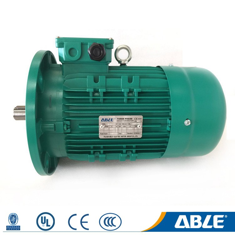 Tefc Double Speed Asynchronous High Velocity Fan Motor For Air Cooler Manufacture