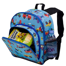 Planes and Trucks 12 Inch Backpack Cute Kids Backpack